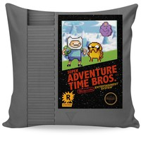 Super Adventure Time Bros Couch Pillow