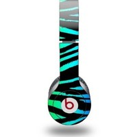 Waldorff's: Zebra Decal Skin for Beats Solo HD Headphones $24.92