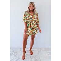 Hawaiian Delight Dress: Multi