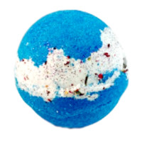 MOTHER EARTH SHEA INFUSED BATH BOMB