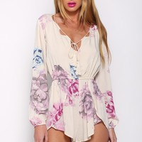 Time Stands Still Playsuit