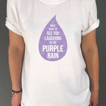 Prince T-Shirt RIP Prince Purple Rain Music Fan Inspired T-Shirt Unisex  Tumblr tshirt womens, sassy cute fashion