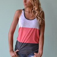 Piace Boutique - Tri As You May Tank (2 colors) in Tops