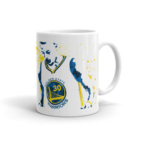 Stephen Curry Golden State Warriors Basketball Mug