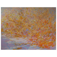 Large abstract landscape painting - Original Abstract Art - Landscape art by Yuri Pysar