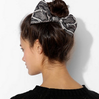 Silky Bow Hair Clip - Urban Outfitters