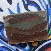 Tobacco and Bay Rum Honey and Hemp Soap ~ Hemp Oil Soap ~ Cold Process Soap ~ Body Bar ~ Palm Free