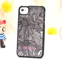 Lotus cloth art case for iphone 4/4s/5