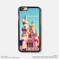 Disneyland castle Free Shipping iPhone 6 6Plus case iPhone 5s case iPhone 5C case iPhone 4 4S case Samsung galaxy Note 2 Note 3 Note 4 S3 S4 S5 case 259