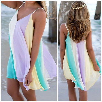 Beachy mini dress
