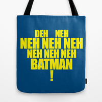 The Bat's Song Tote Bag by LegoBatman