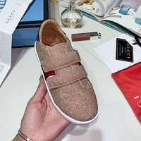 Gucci Child Girls Boys shoes Children boots Baby Toddler Kids Child Fashion Casual Sneakers Sport Shoes