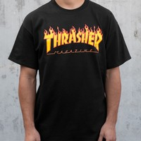 Thrasher Magazine Shop - Thrasher Magazine Flame Logo T-Shirt