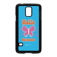 Sassy - Hello Gorgeous 10433 Hard Plastic Case for Samsung Galaxy S5 by Sassy Slang