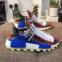 Adidas X Pharrell HU NMD Fashion Women Casual Running Sport Sneakers Shoes