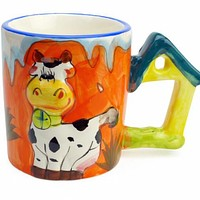 Mug with Sound of Animal: Cow