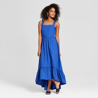 Women's Sleeveless Ruffle Hem Maxi Tank Dress - Who What Wear™