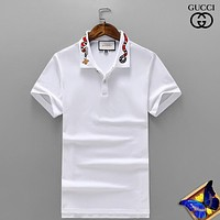 Gucci Fashion Casual Shirt Top Tee-64