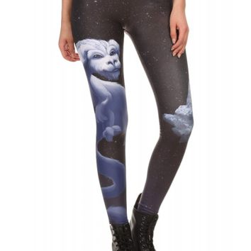 Poprageous Women's Lucky Dragon Leggings