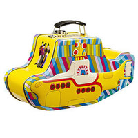 PLASTICLAND - Beatles Yellow Submarine Retro Tin Lunchbox