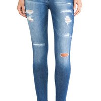 Black Orchid Mid Rise Jegging in Wavelight