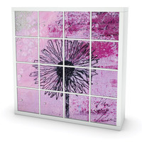 Mystic flower cover for Ikea furniture