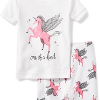 Unicorn-Graphic Sleep Set for Toddler & Baby | Old Navy