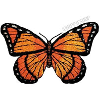 Monarch Butterfly Patch on Sale for $3.99 at HippieShop.com