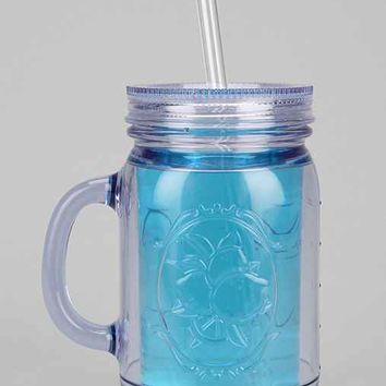 Mason Jar To-Go Cup- Clear One