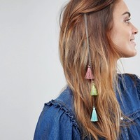 ASOS Tassel Strand Hair Clip at asos.com