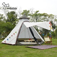 Ultralight Weatherproof Teepee Tent 3-4 Person