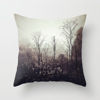 Morning Meditation Throw Pillow by Olivia Joy StClaire