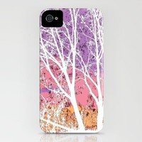 Negative Tree iPhone Case by Romi Vega | Society6