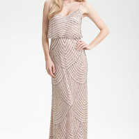 Adrianna Papell Sequin Gown