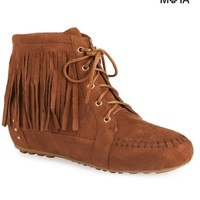 Moccasin Bootie