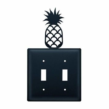 Pineapple - Double Switch Cover