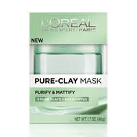 Pure Clay Mask Purify and Mattify - by L'Oréal Paris