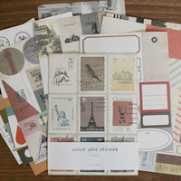 Retro Daily Deco Sticker Set