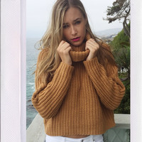 Lioness Knit - Mustard {Boutique Collection}
