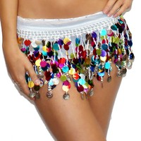 Belly Dancing Coin Sash Bottom