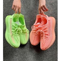 Adidas Yeezy Boost 350 V2 Popular Women Breathable Sport Running Shoes Sneakers