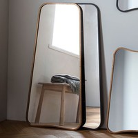 Curved Wall Or Leaning Mirror