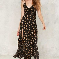 Cover the Field Floral Maxi Dress