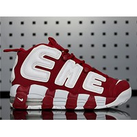 Sup x Air More Uptempo 96 902290-600 Red