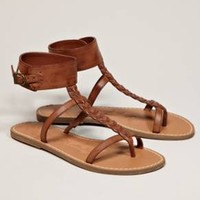 AEO Braided Ankle Cuff Sandal - American Eagle Outfitters