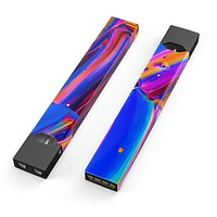 Blurred Abstract Flow V5 - Premium Decal Protective Skin-Wrap Sticker compatible with the Juul Labs vaping device