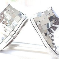 Chuck Taylor CONVERSE covered in Mirror and by AllThingsGlam