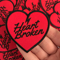 heart broken patch
