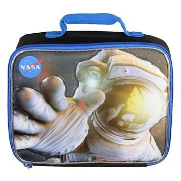 Buzz Aldrin NASA Lunch Box 3D Astronaut Insulated Lunch Bag