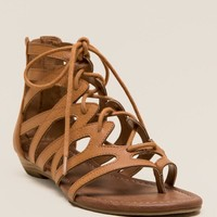 Santo Lace Up Gladiator Sandal